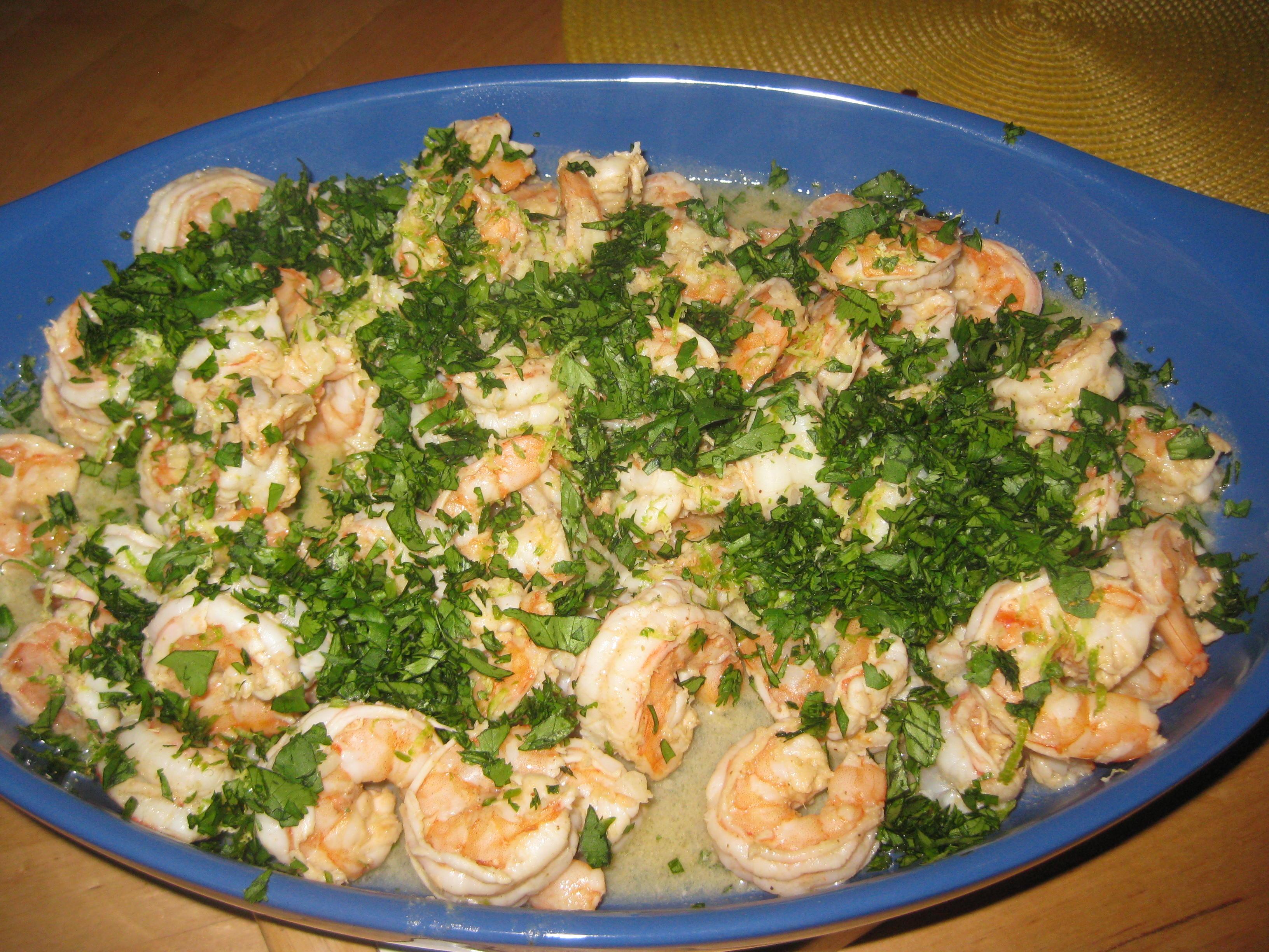 Recipes Course Main Dish Fish and Shellfish Cilantro Lime Shrimp