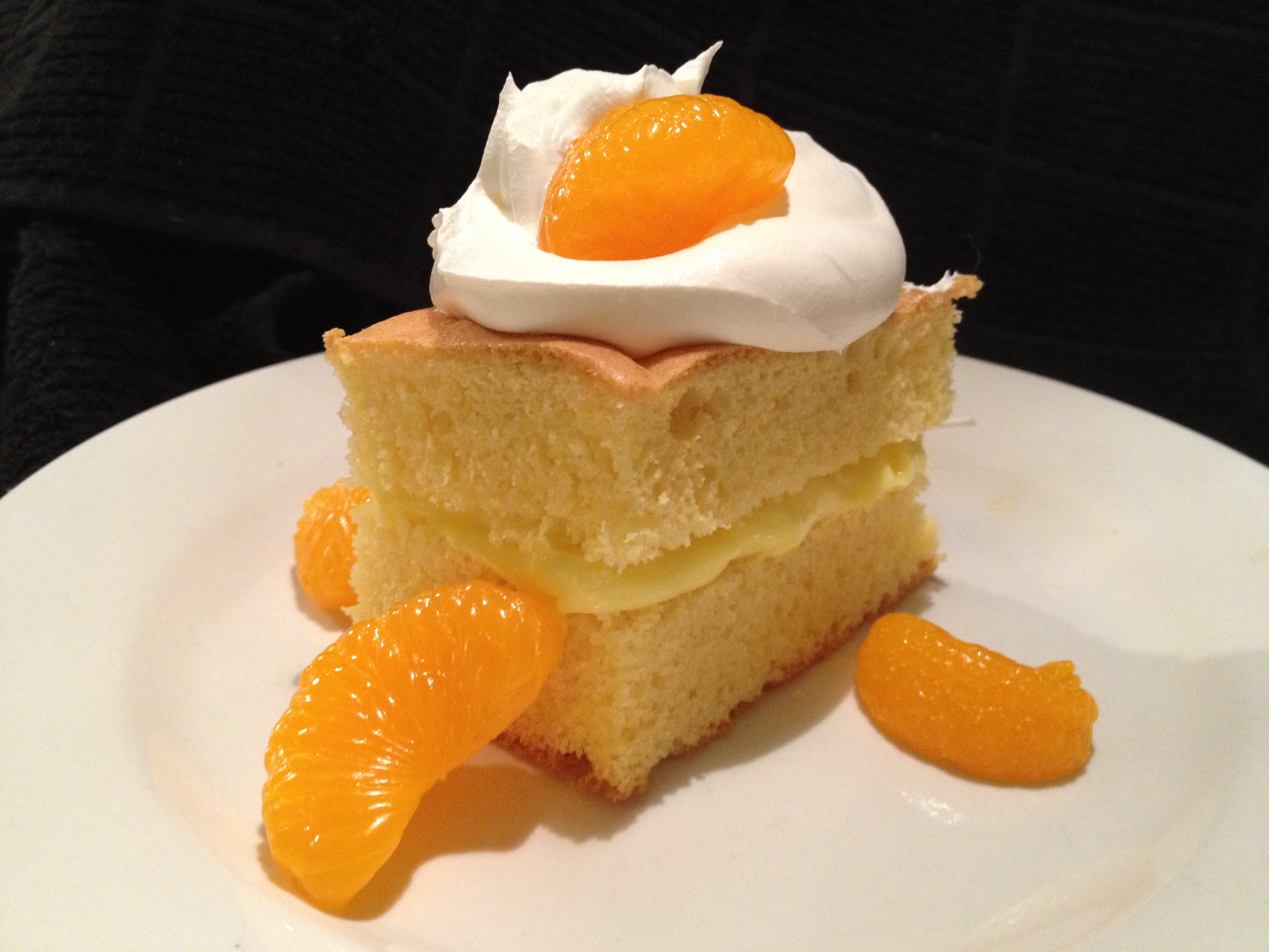 Lemon Mandarin Cake Recipe