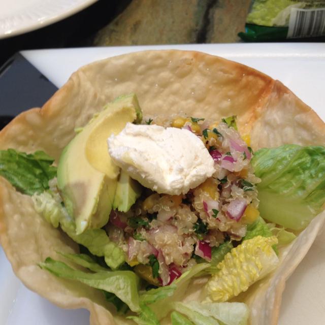 Quinoa Taco Salad Recipe - BigOven