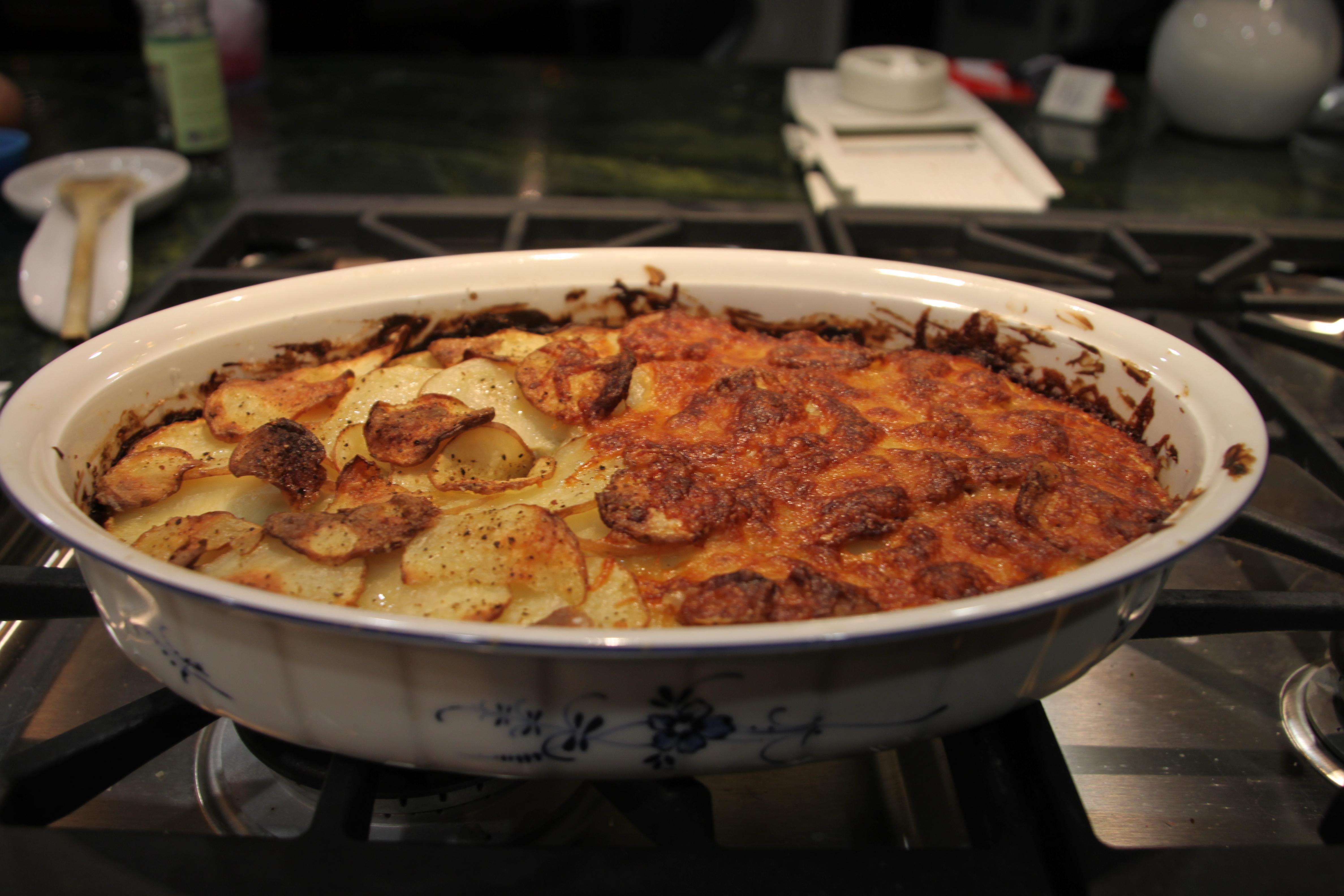 Artichoke, Leek, Potato and Cheese Casserole - BigOven