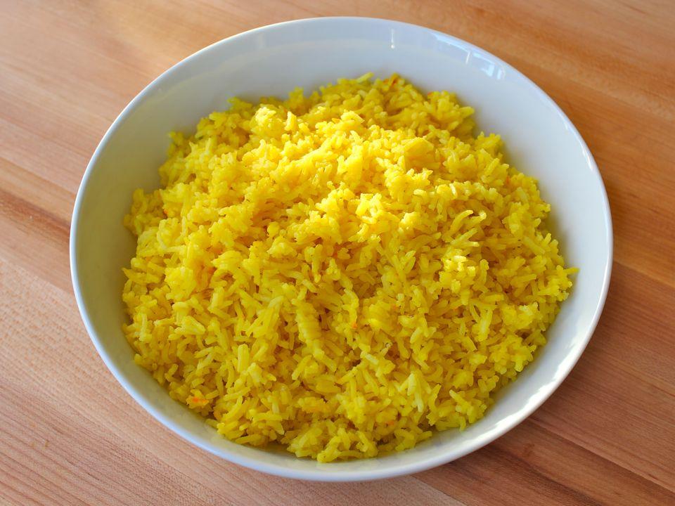 Coconut Saffron Rice - BigOven