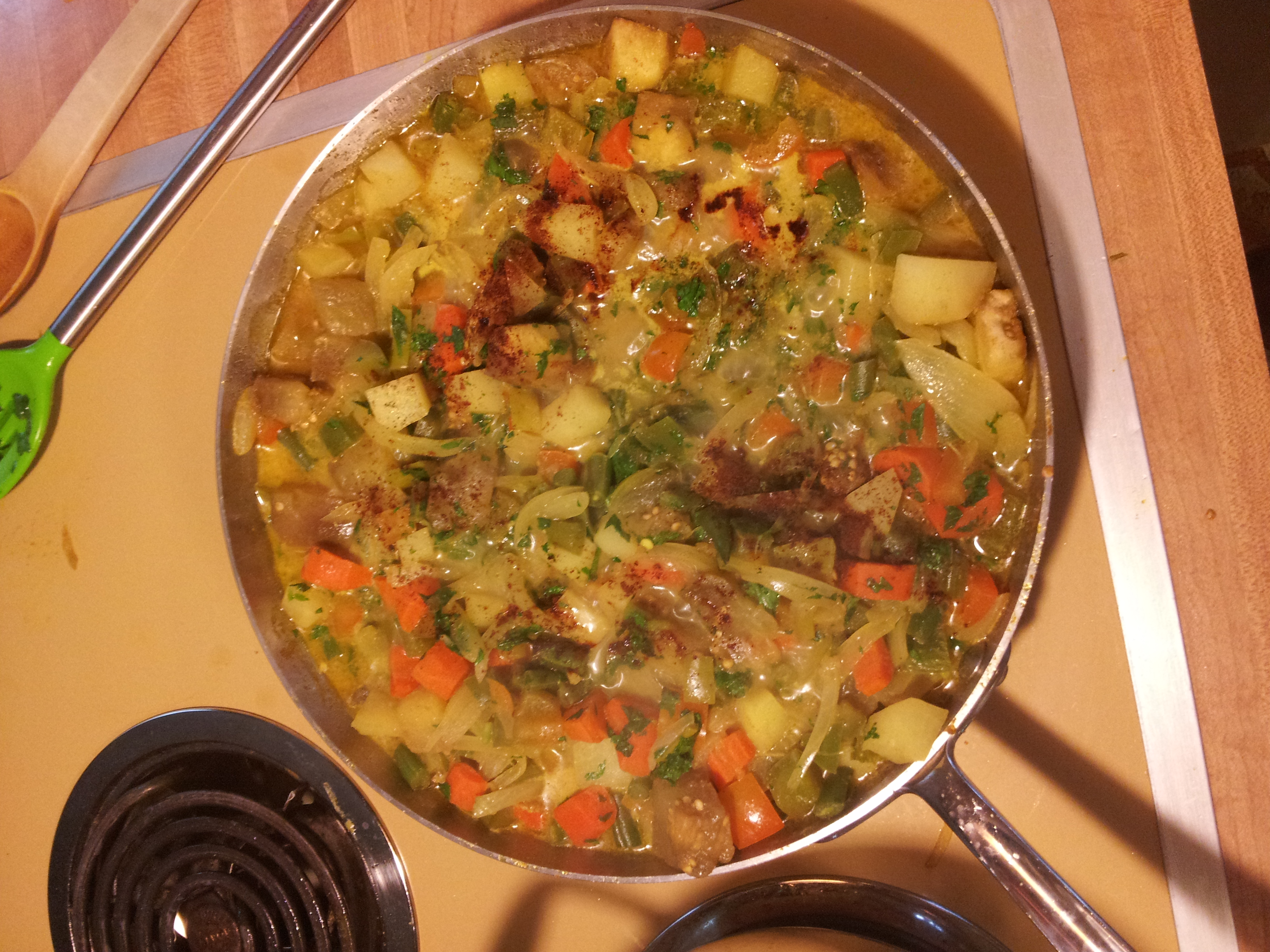 South Indian Vegetable Curry