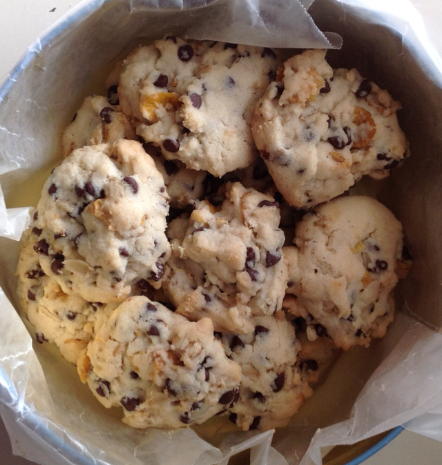 Chocolate Chip Cereal Cookies