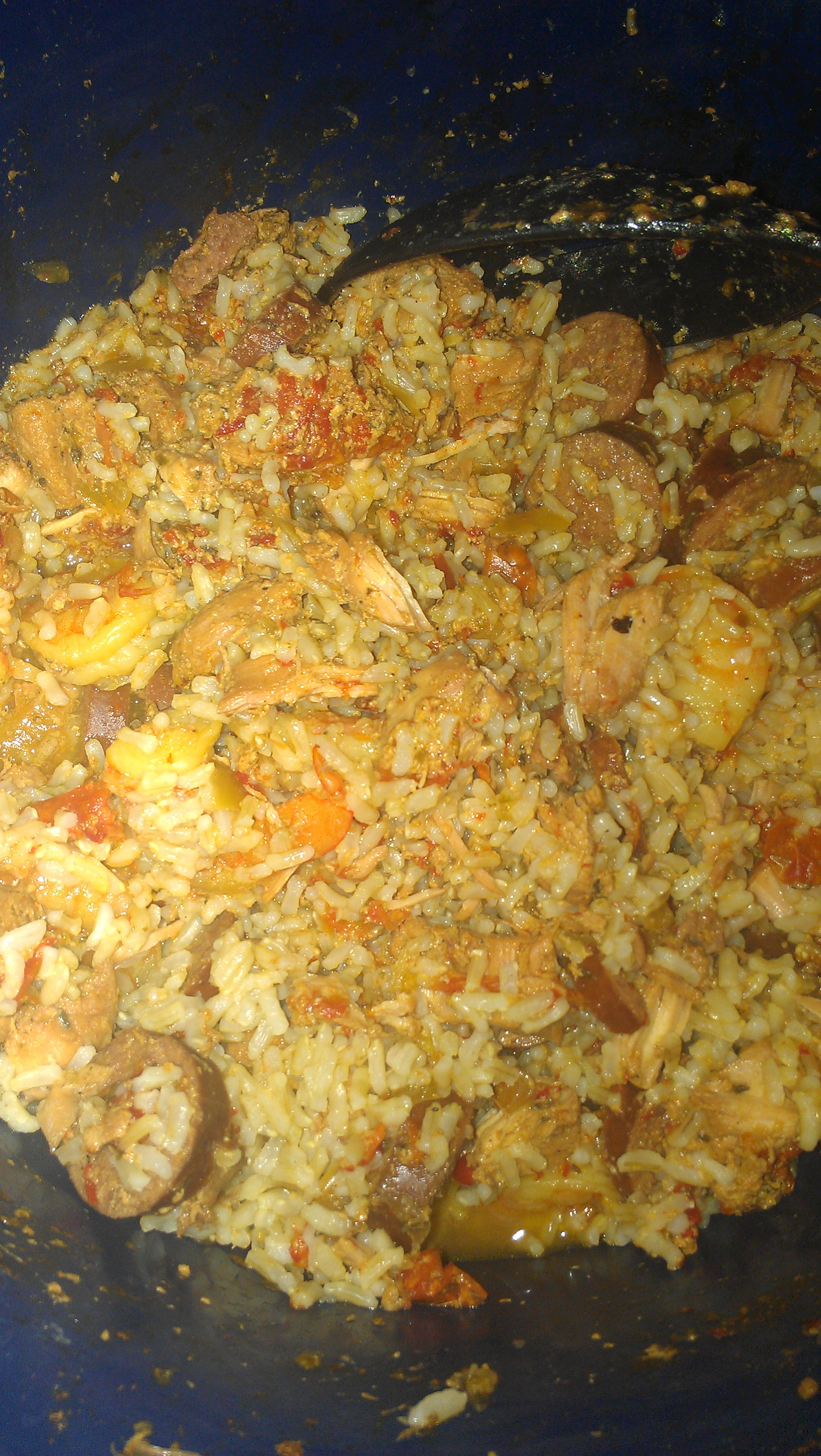 how to cook jambalaya in a rice cooker