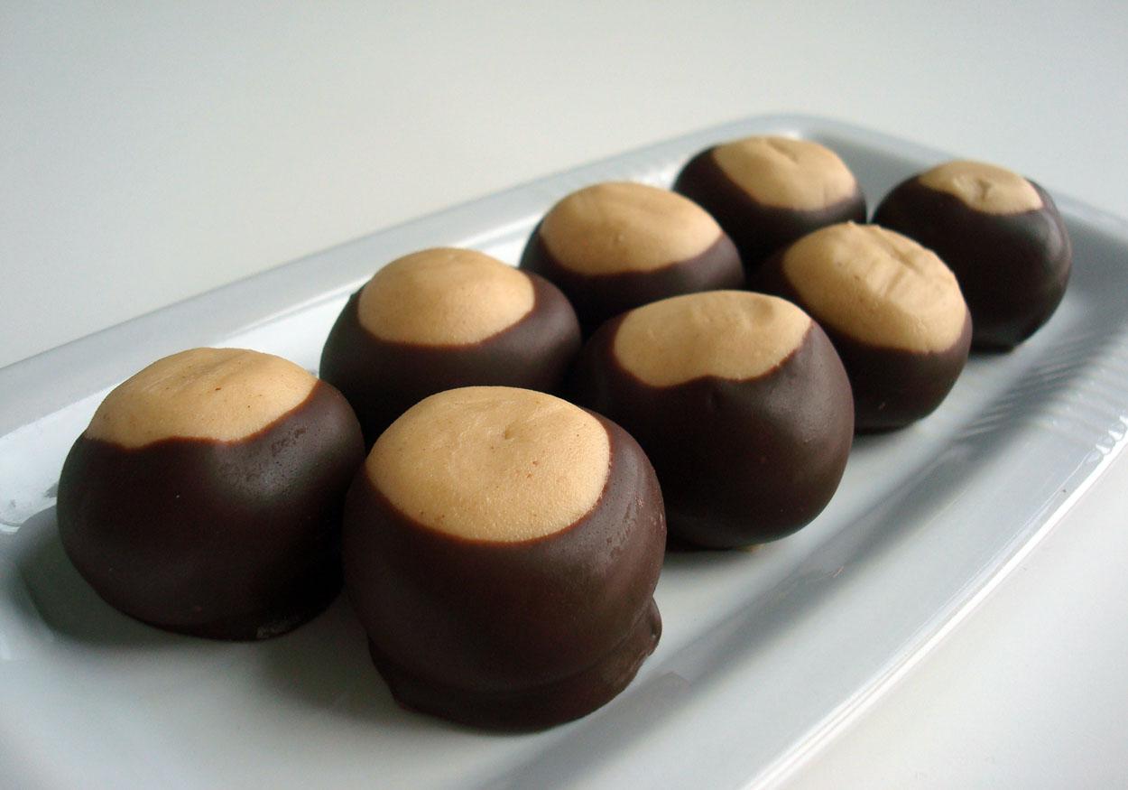 Buckeye Chocolate Candy
