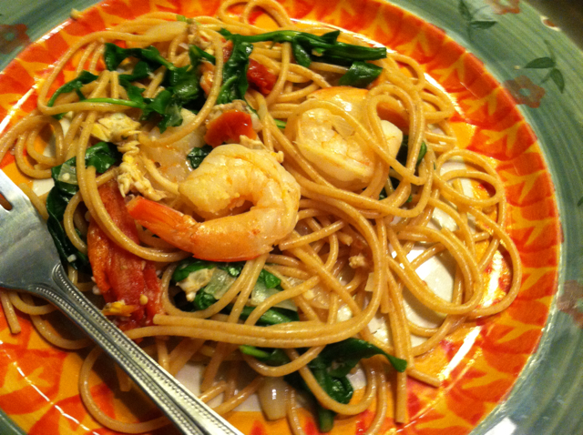 how to cook seafood spaghetti