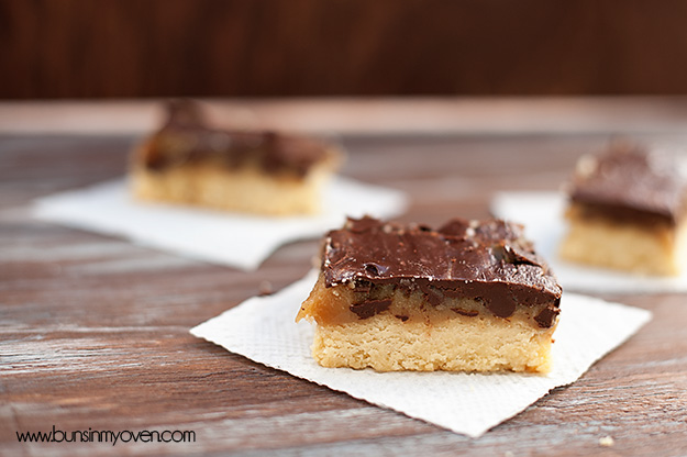 ... Course Desserts Cookies and Bars Chocolate Caramel Shortbread Bars