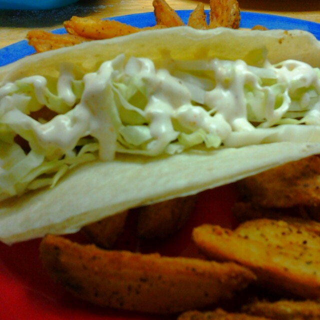 White sauce for fish tacos bigoven 543239 for White fish tacos