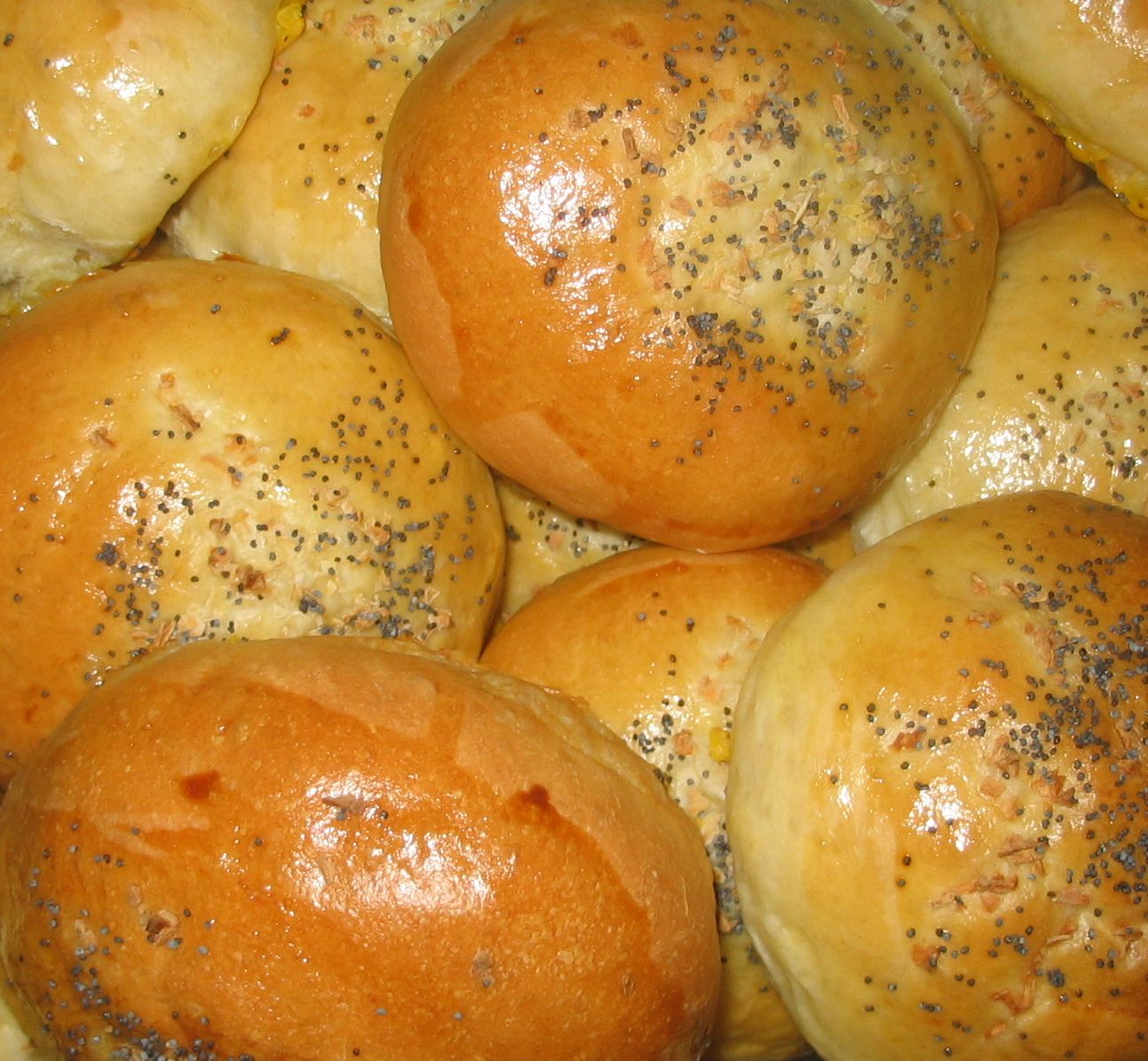 How To Make Poppy Seed Hot Dog Buns