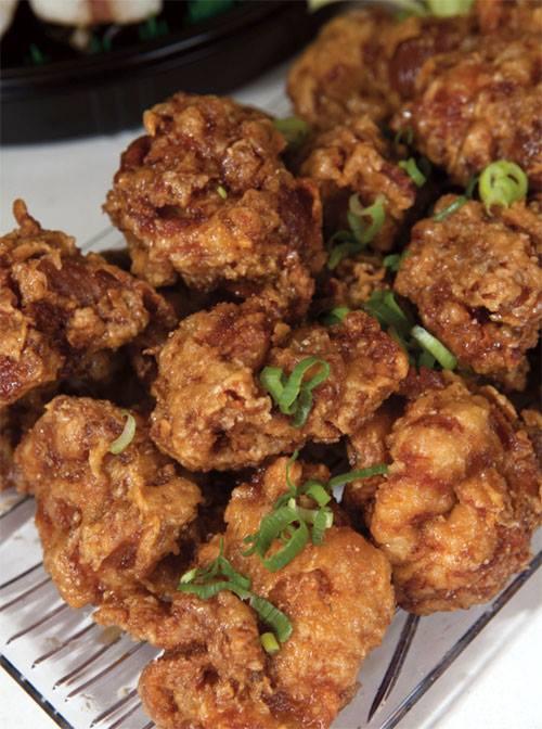 Mitsu-Ken's Garlic Chicken