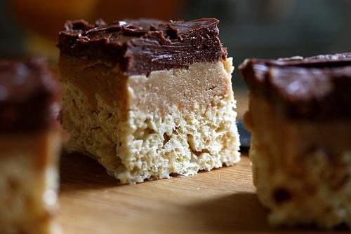 Peanut Butter Fudge Rice Krispies Treats - BigOven