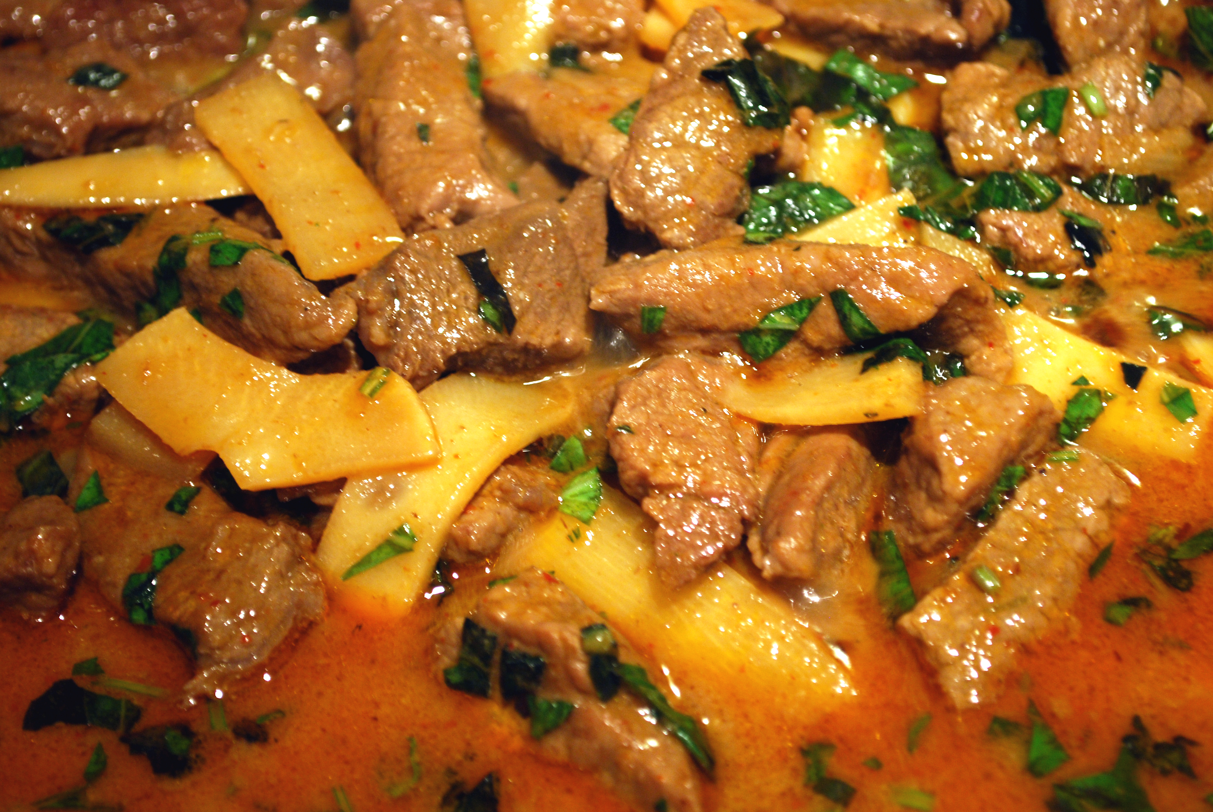 Thai red beef curry - BigOven