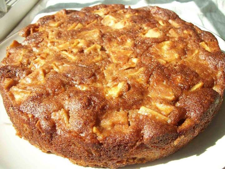 One Bowl Apple Cake Calories