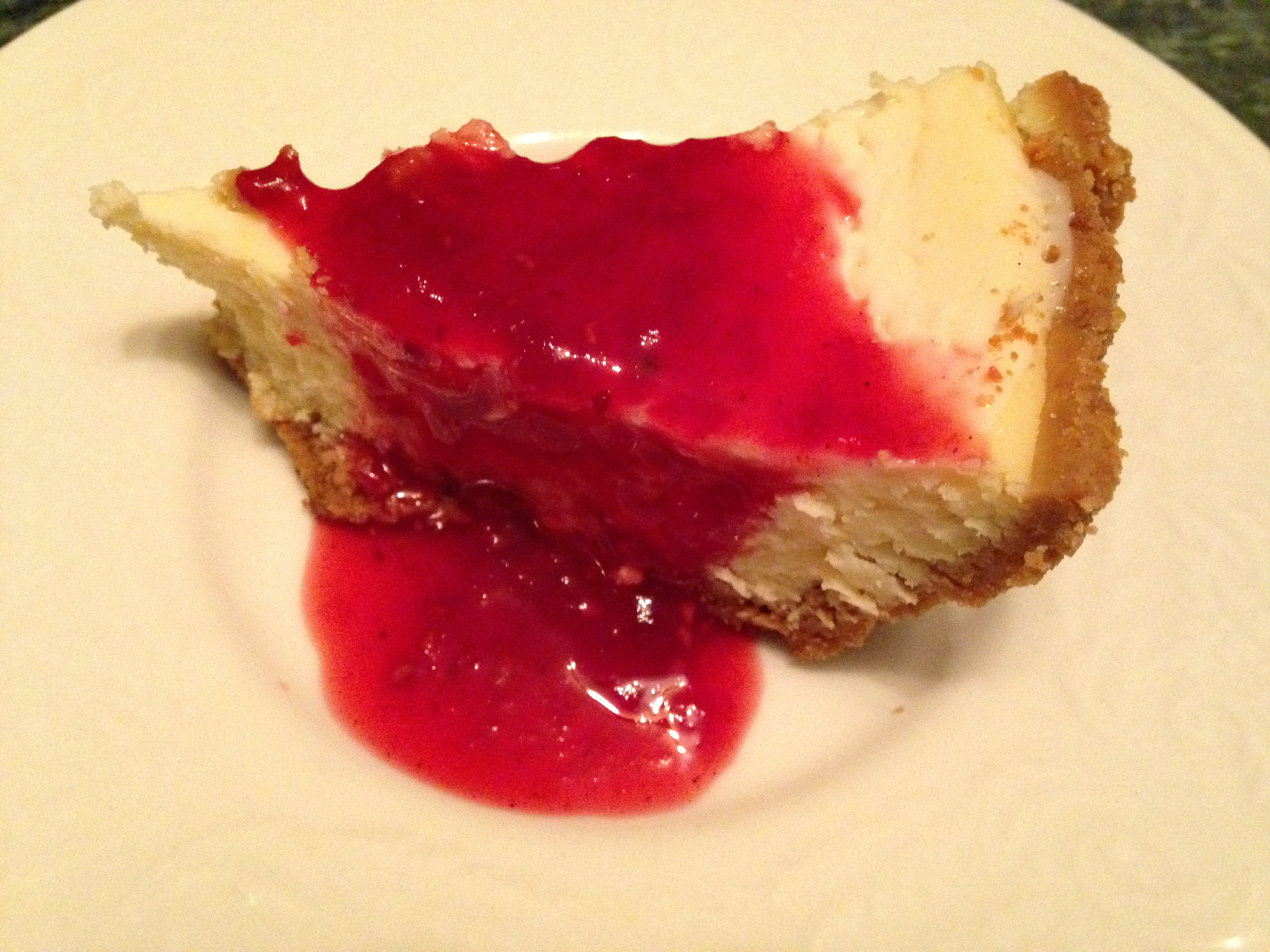Light New York Style Cheesecake-CJCS