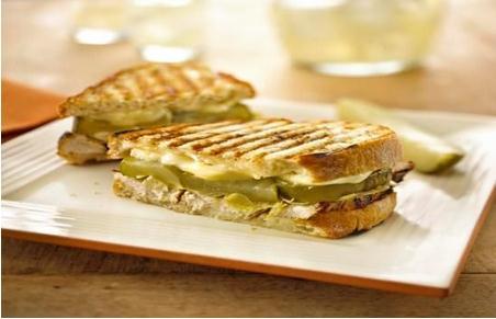 Chicken, Brie, and Pickle Panini - BigOven