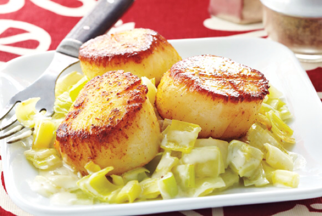 how to cook scallops in curry