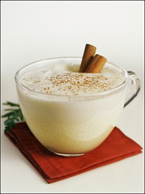 Recipes By Course Drinks Eggnog Martha's Classic Eggnog
