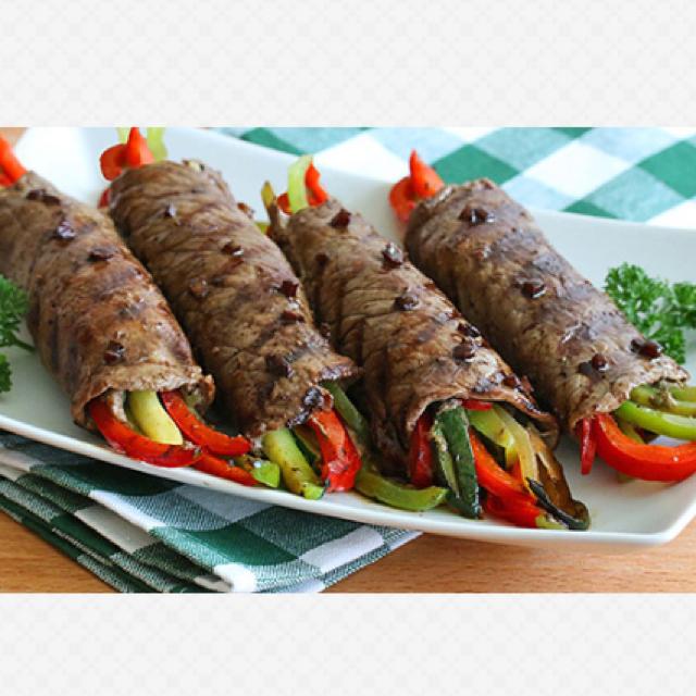 Balsamic Glazed Flank Steak Recipes — Dishmaps