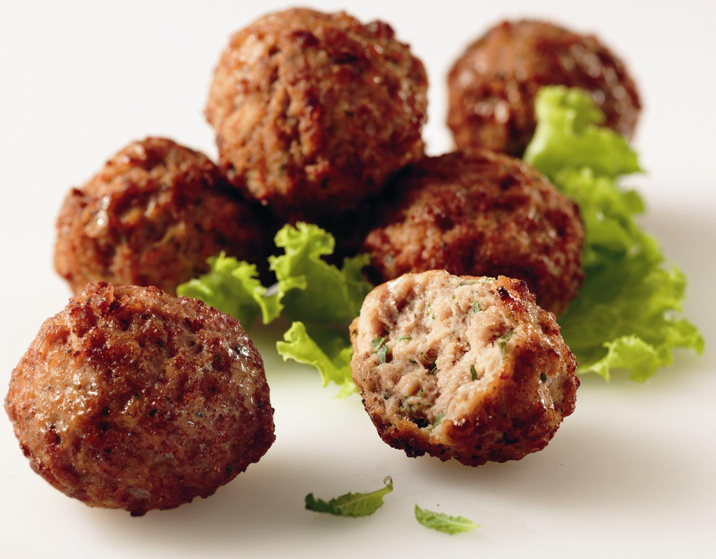 Recipes By Course Main Dish Meat - Other Keftedakia (Greek meatballs)