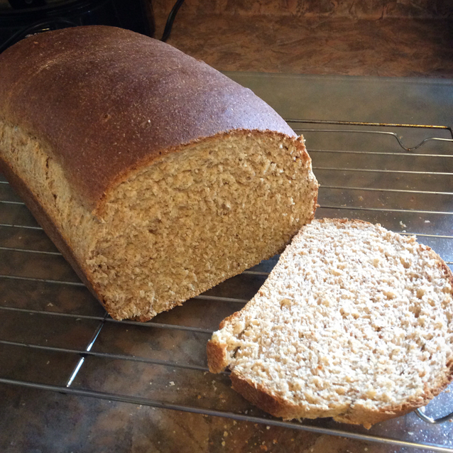 100% Honey Whole Wheat Bread - BigOven