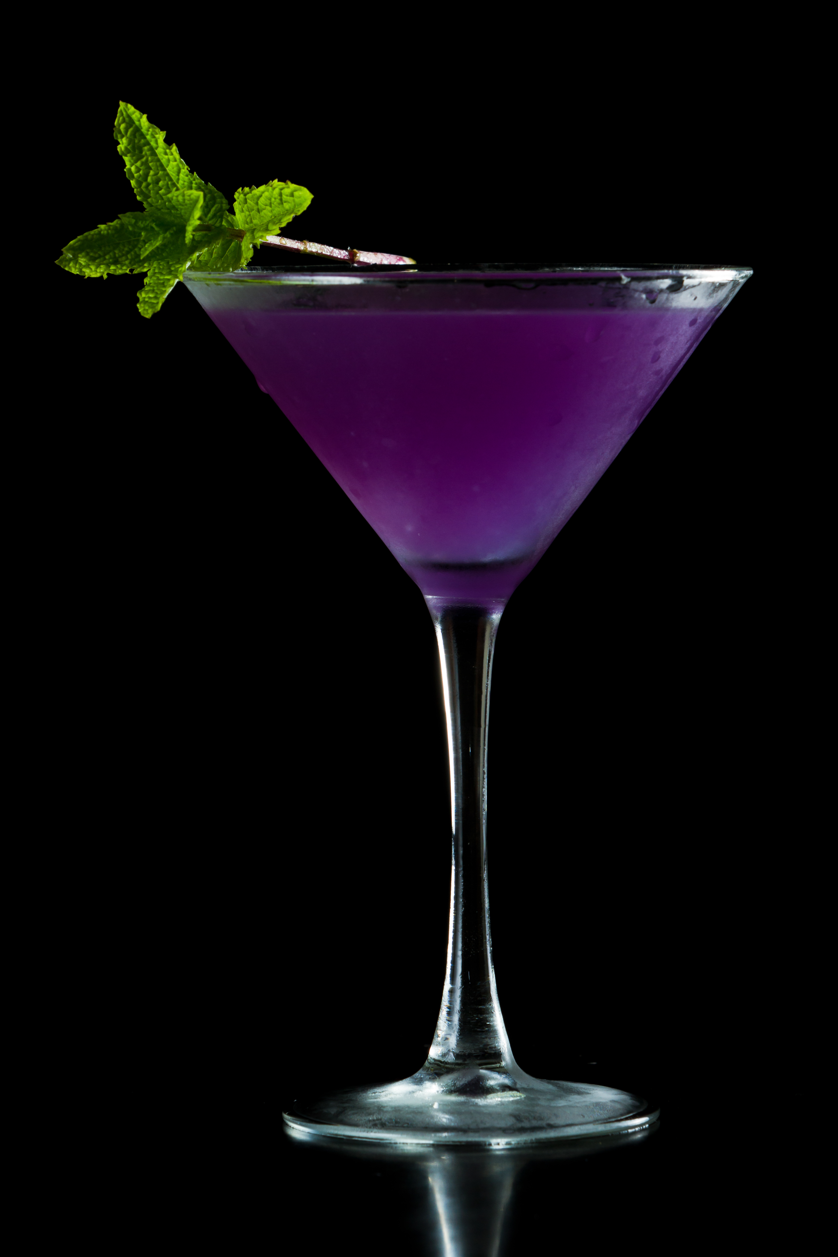 Halloween Cocktail Purple Martini Bigoven