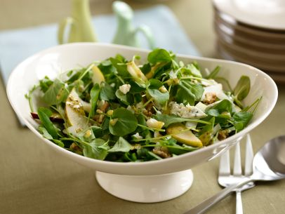 Recipes Course Side Dish Vegetables Pear and Blue Cheese Salad