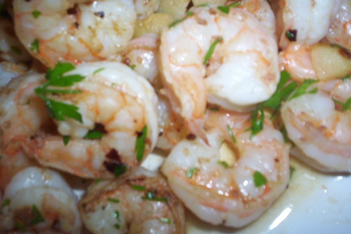 Spicy Garlic Shrimp - BigOven