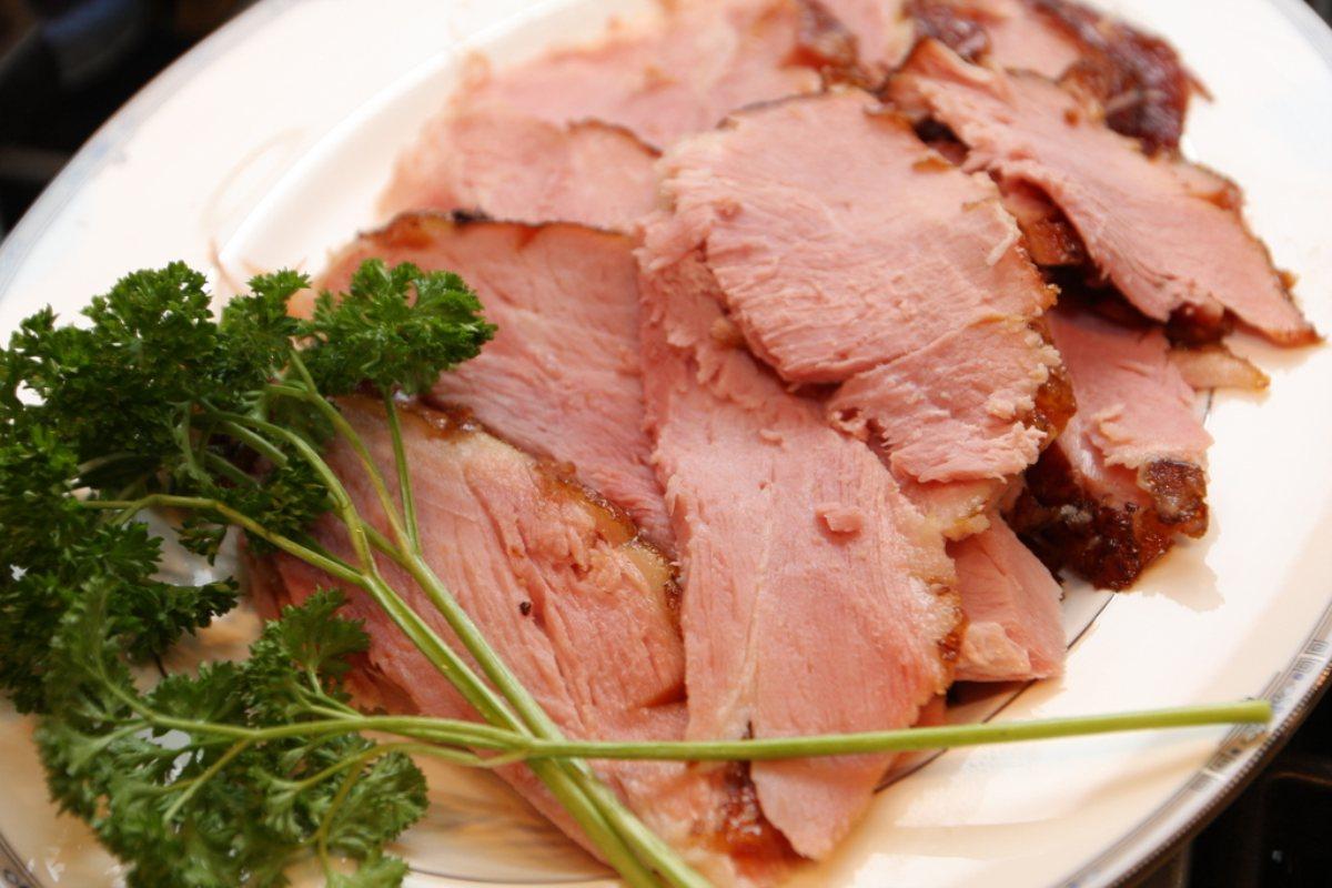 Recipes By Course Main Dish Roasts Honey Glazed Baked Ham