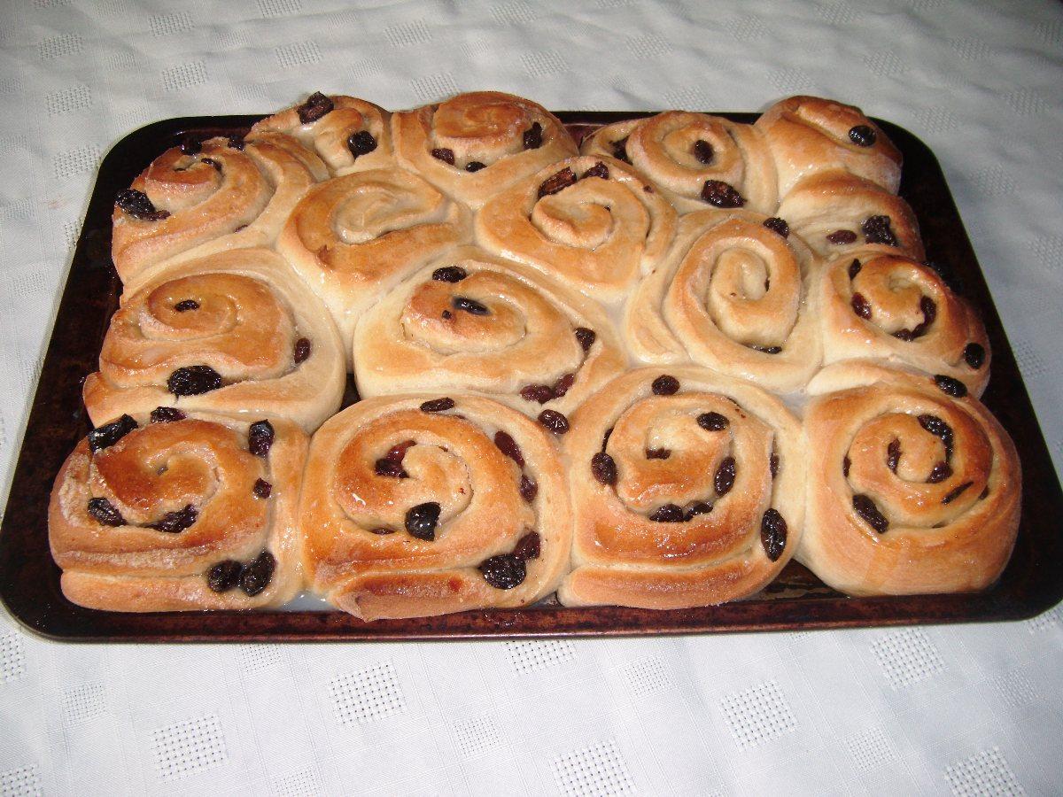 bread machine buns