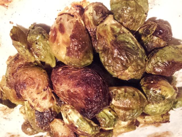 how to cut brussel sprouts for roasting