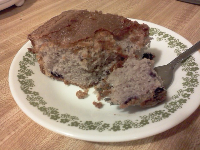 Best Ever Blueberry Coffee Cake - BigOven 159713
