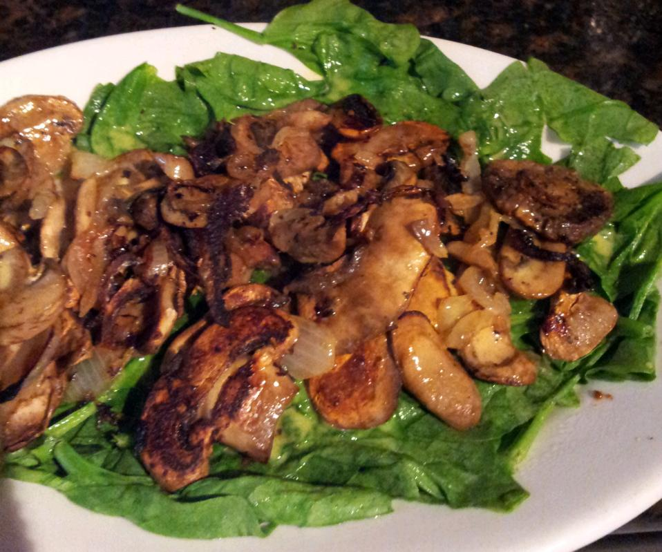how to make sauteed mushrooms and onions