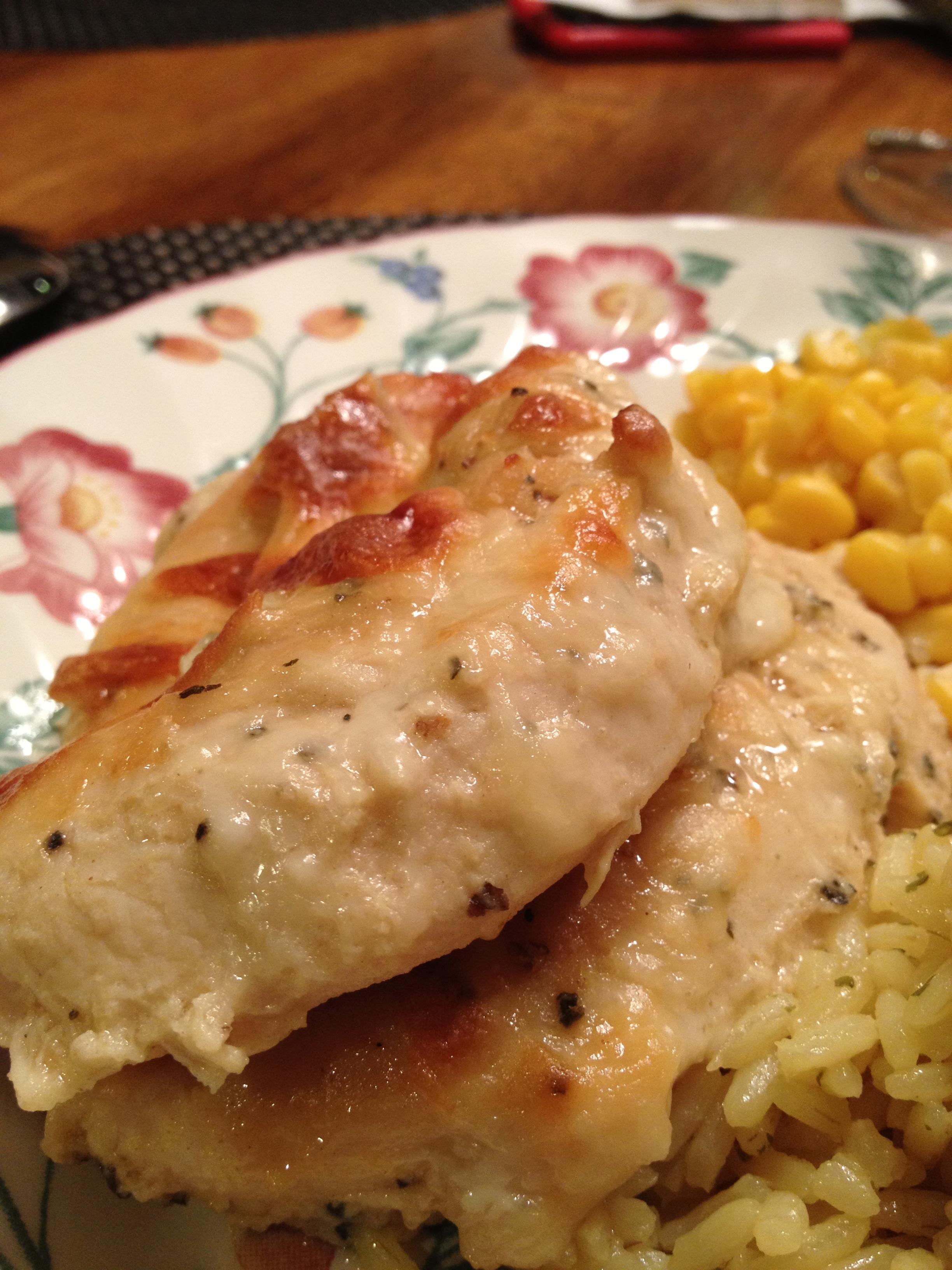 Maple-Dijon Baked Chicken