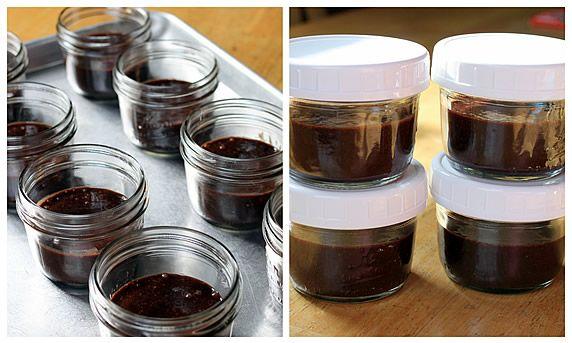 Cake In A Jar Recipe Microwave: Microwave Brownie Lava Cake