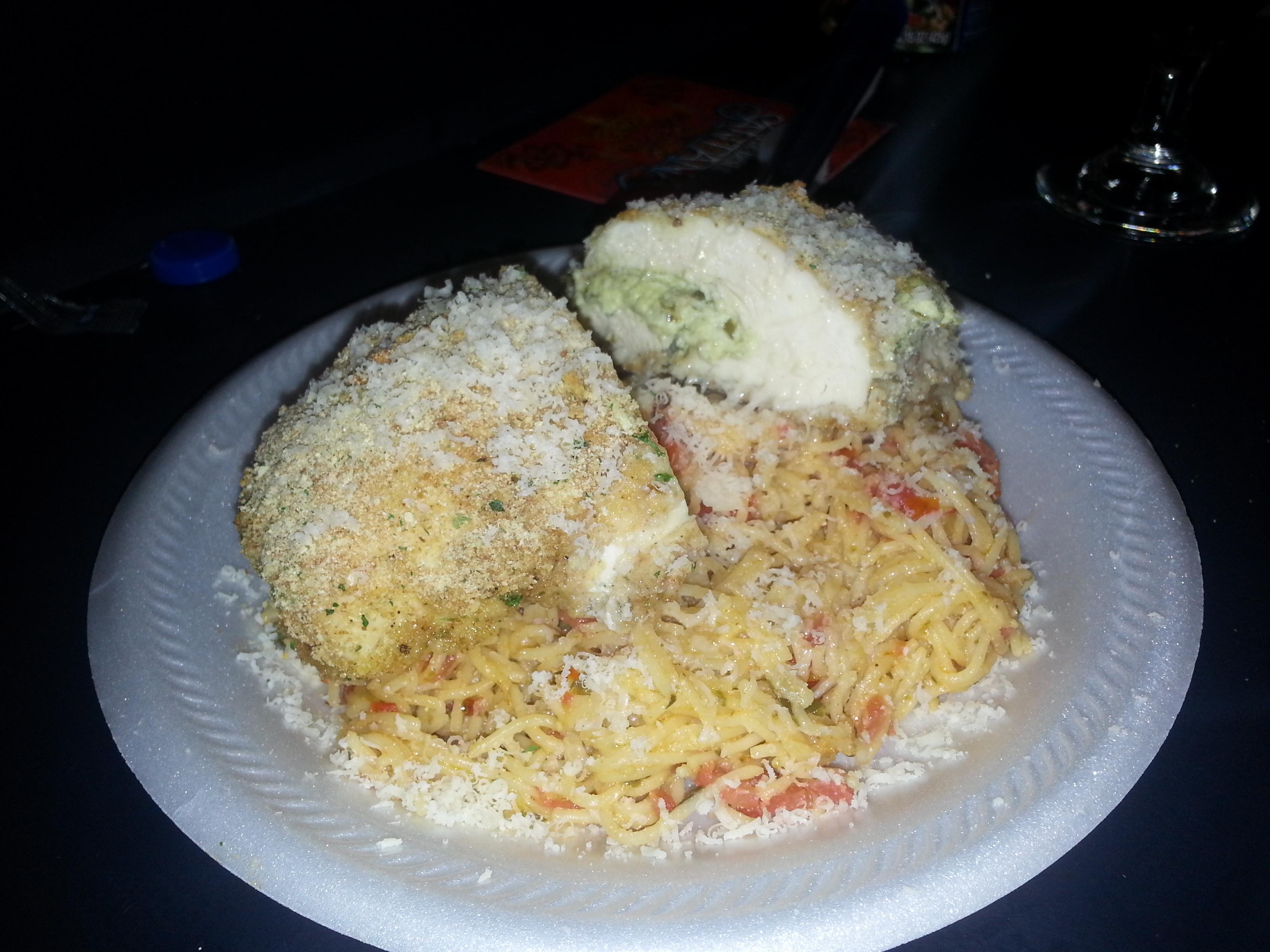 Pesto and Ricotta Stuffed Chicken