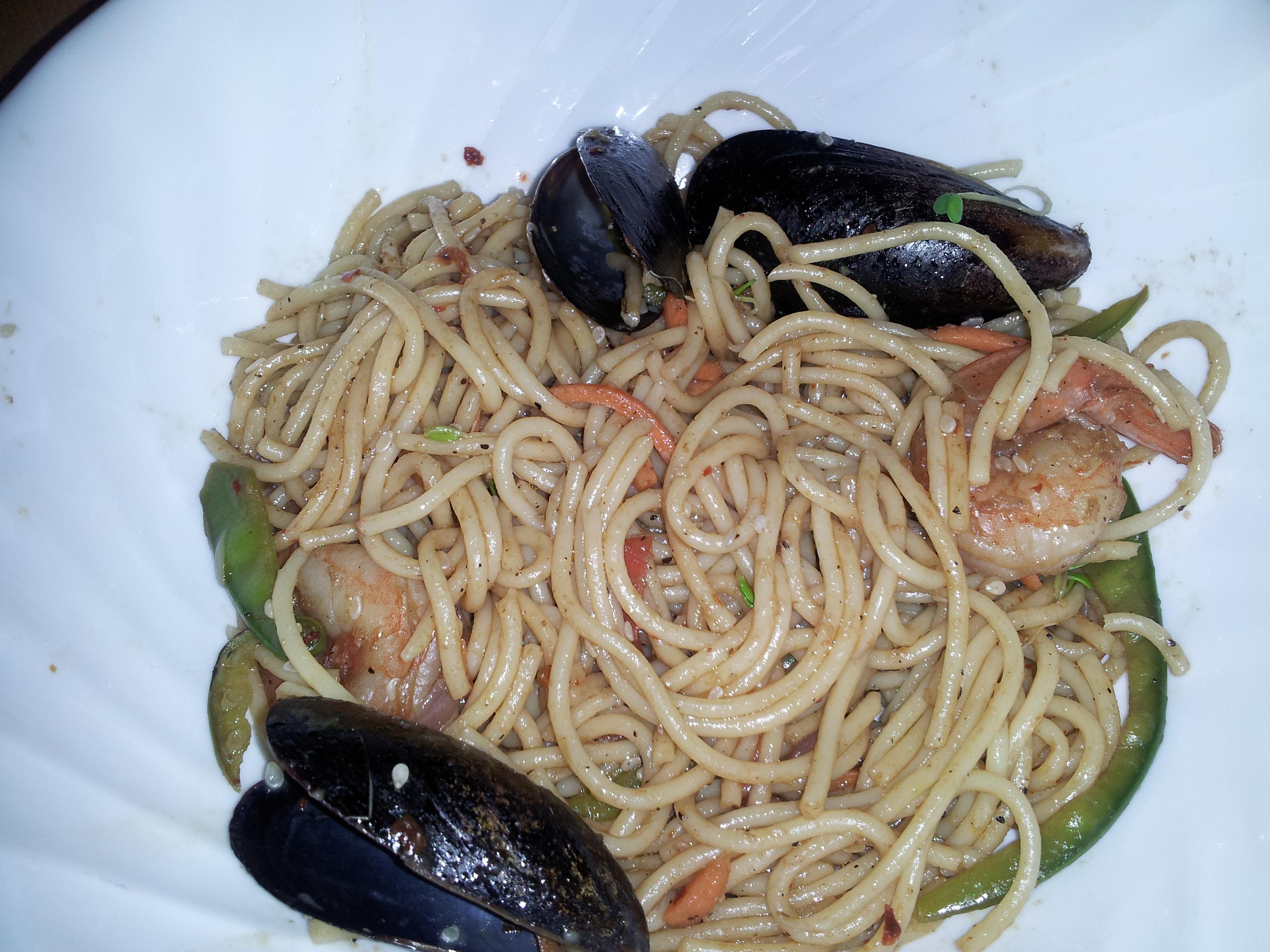 Long Life Fertility Noodles with Happy Shrimp - BigOven