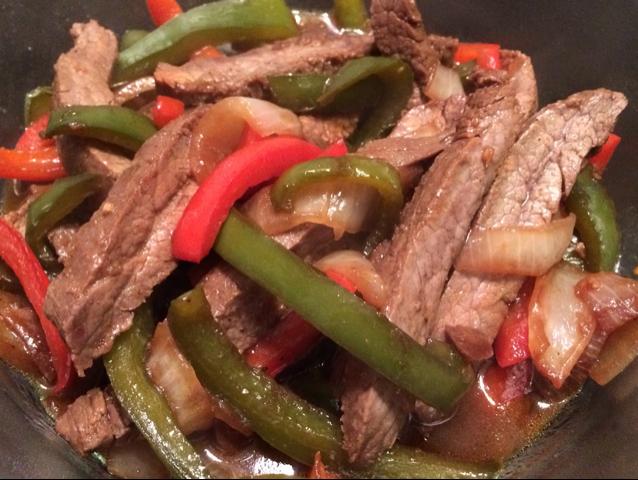 Asian pepper steak recipe