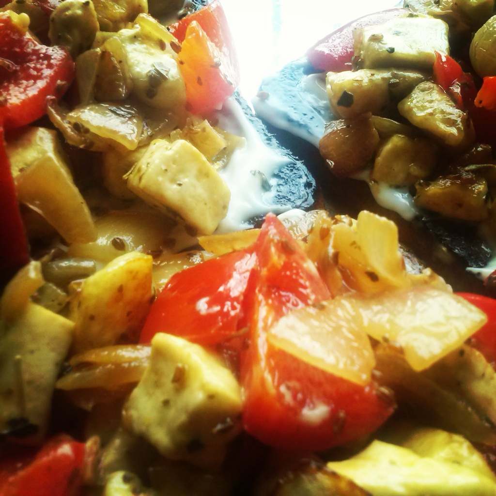 Cottage Cheese Paneer Pepper Toast