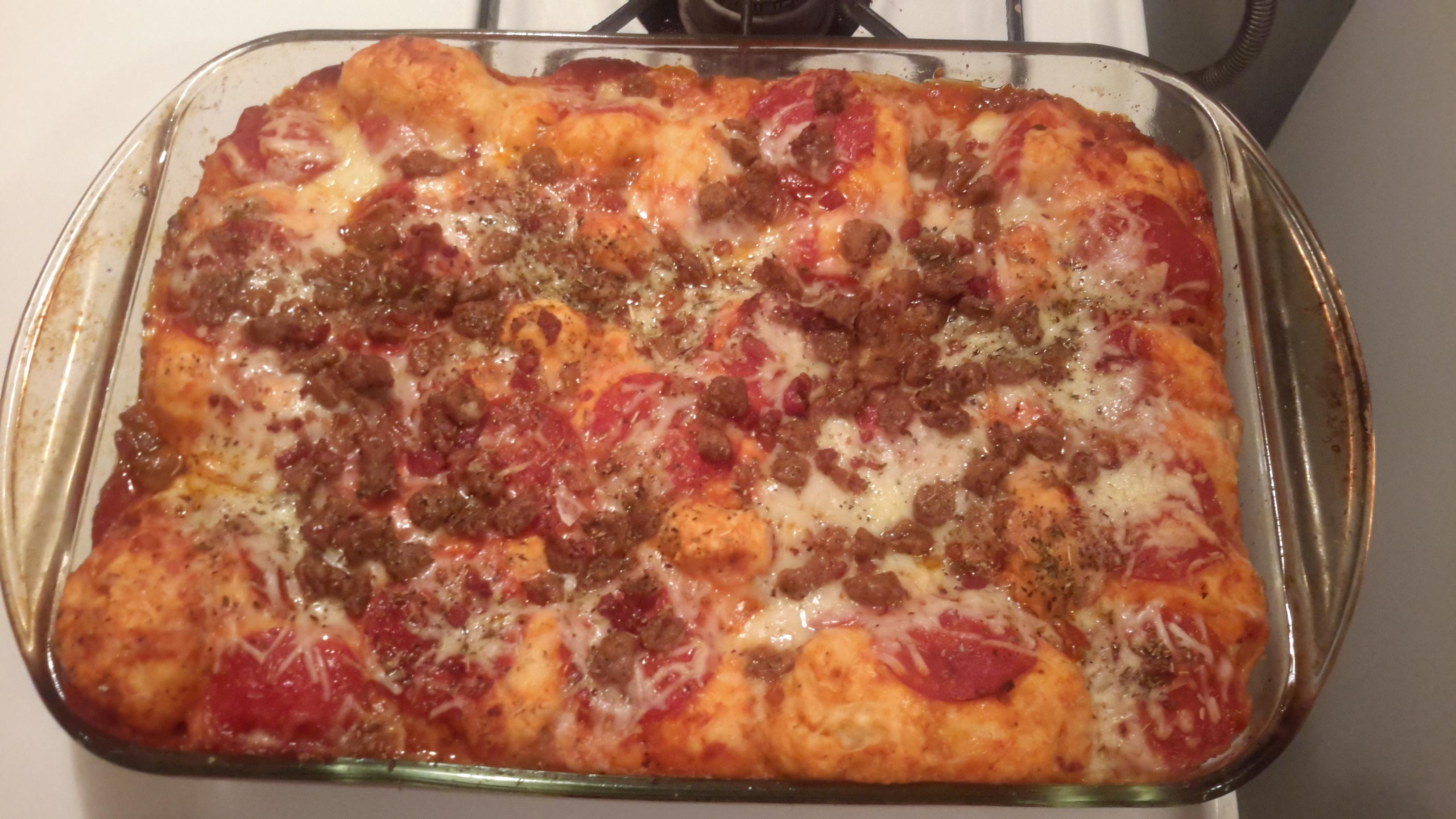 Bubble Up Pizza Casserole - BigOven