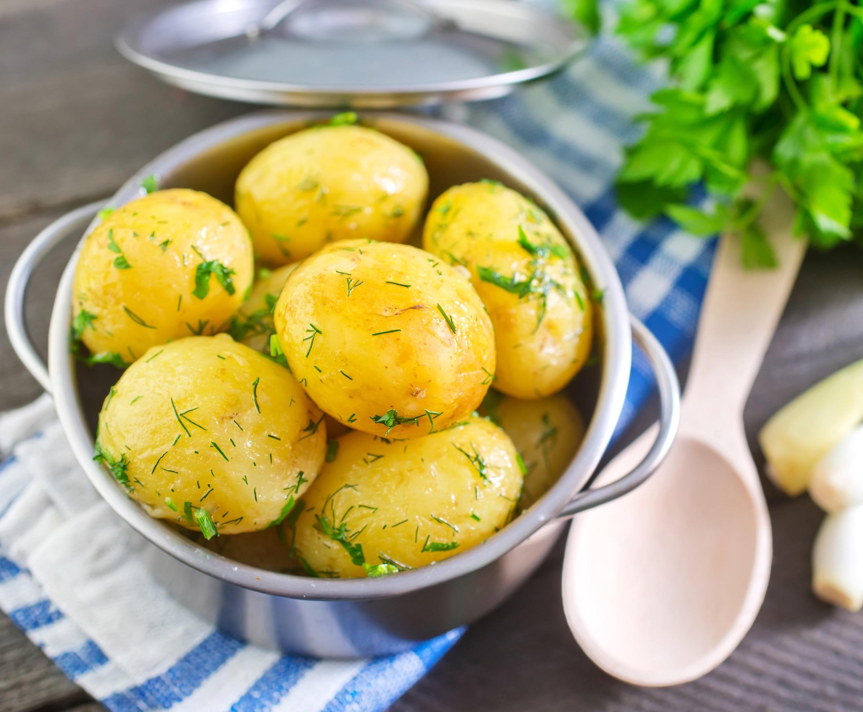 North Croatian boiled potatoes