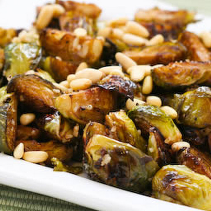 Roasted Brussels Sprouts Recipe With Balsamic, Parmesan ...