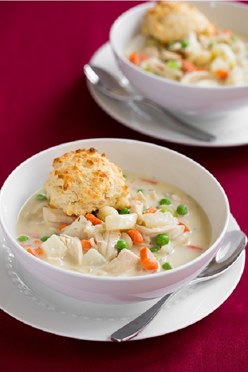... Soups, Stews and Chili Meat and Poultry Creamy Chicken Pot Pie Soup