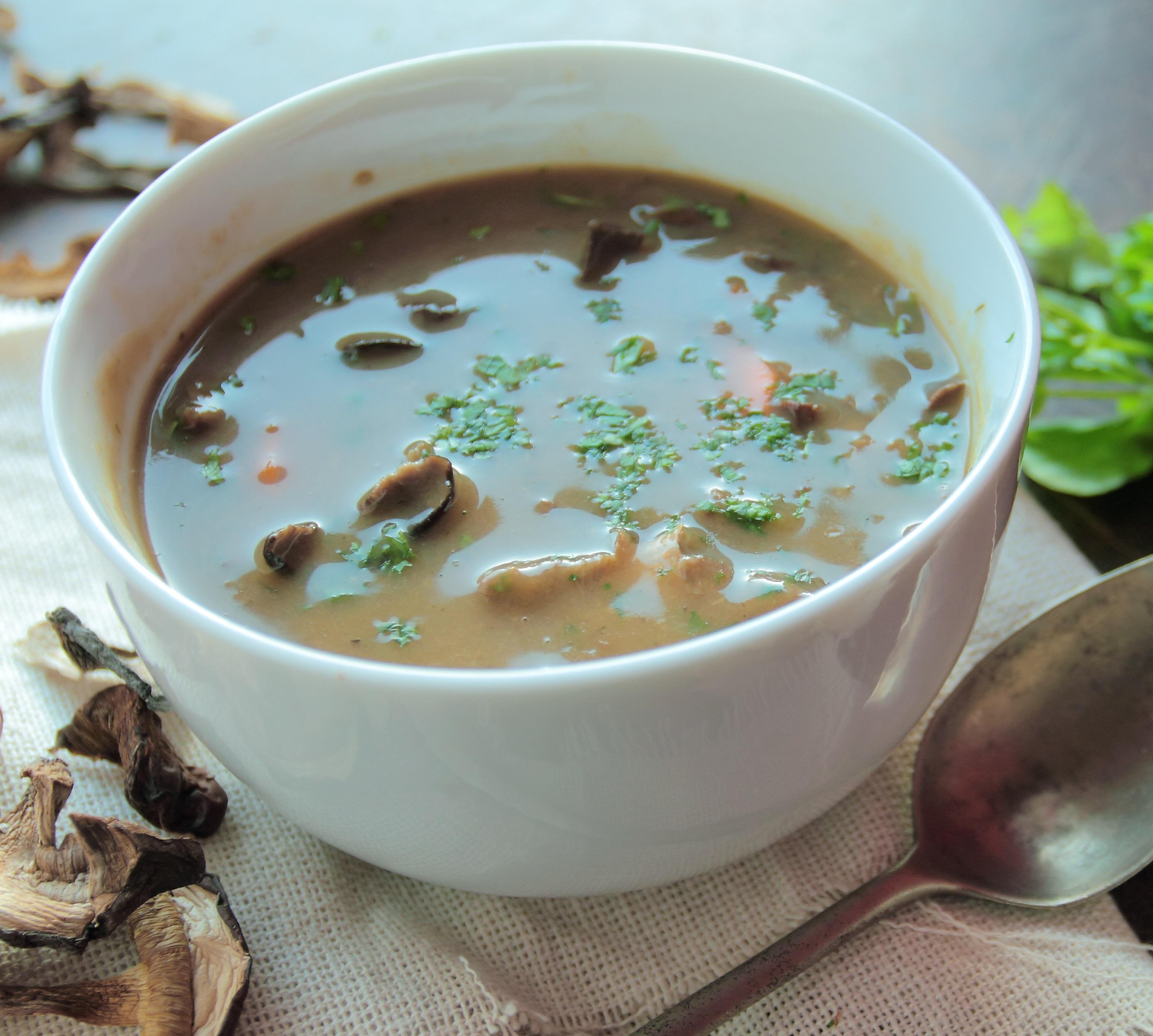 Garlic Mushroom Soup Recipes — Dishmaps