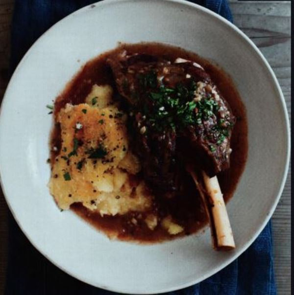 Braised Lamb Shanks with Gremolata and Baked Polenta - BigOven