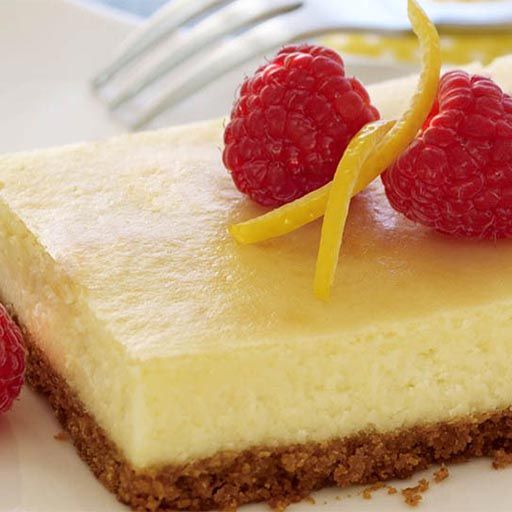 Lemon Cheesecake Bars - BigOven
