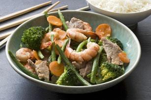 Quick Pork and Shrimp Stir-Fry   Recipes