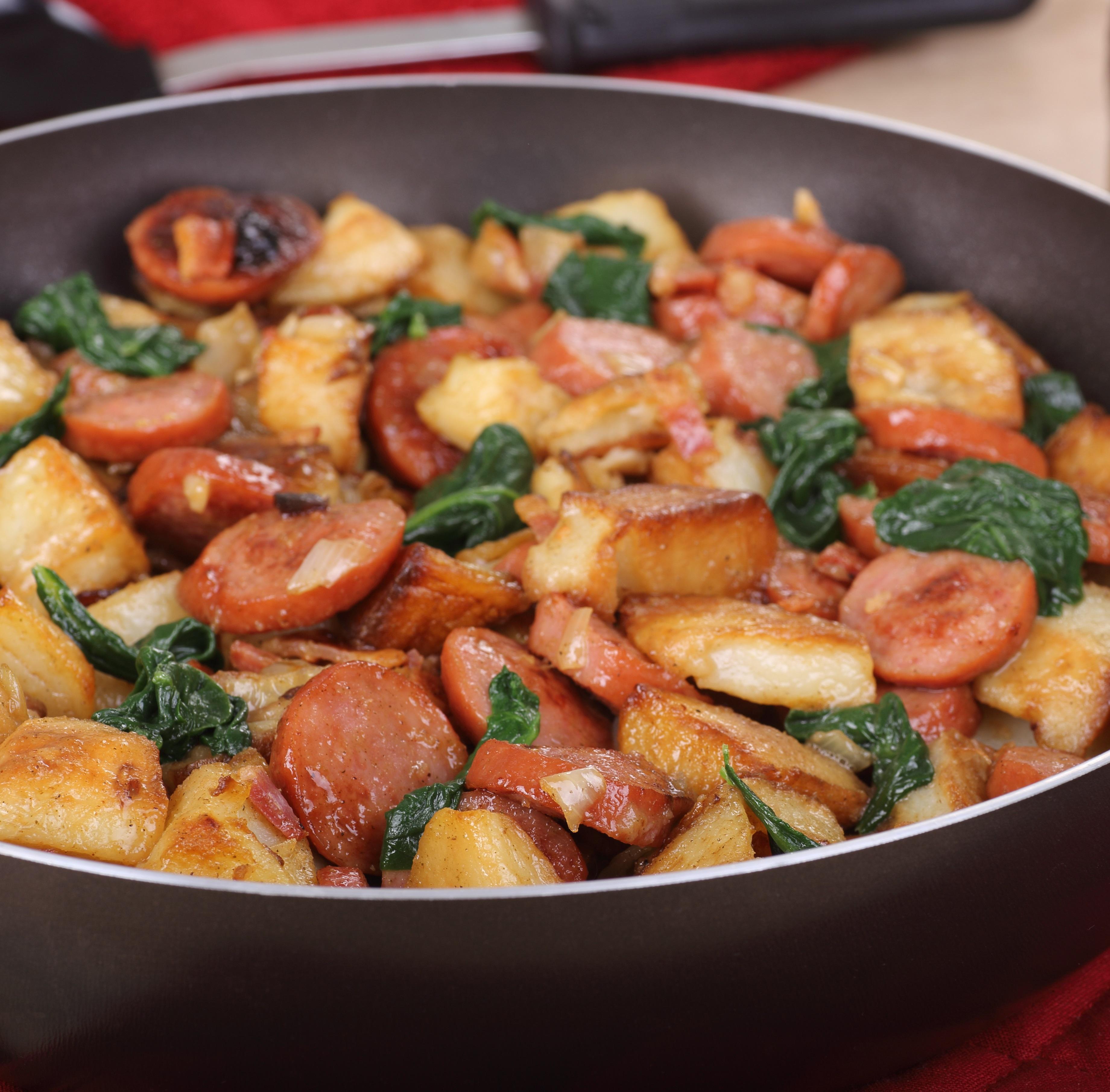 Recipes Course Main Dish Main Dish - Other Potato Kielbasa Skillet