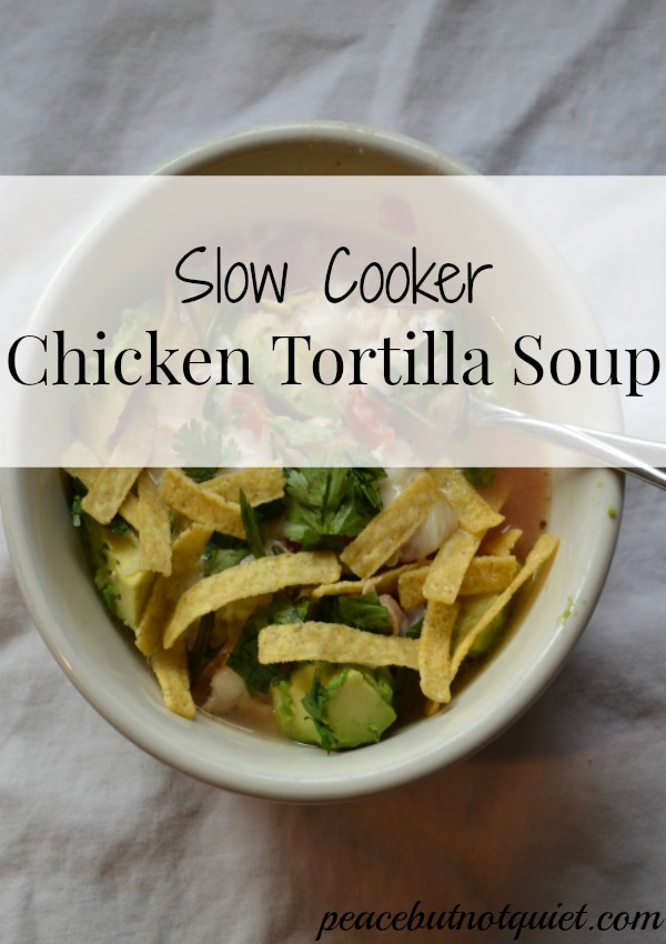 ... Soups, Stews and Chili Slow Cooker Soups Slow Cooker Chicken Tortilla