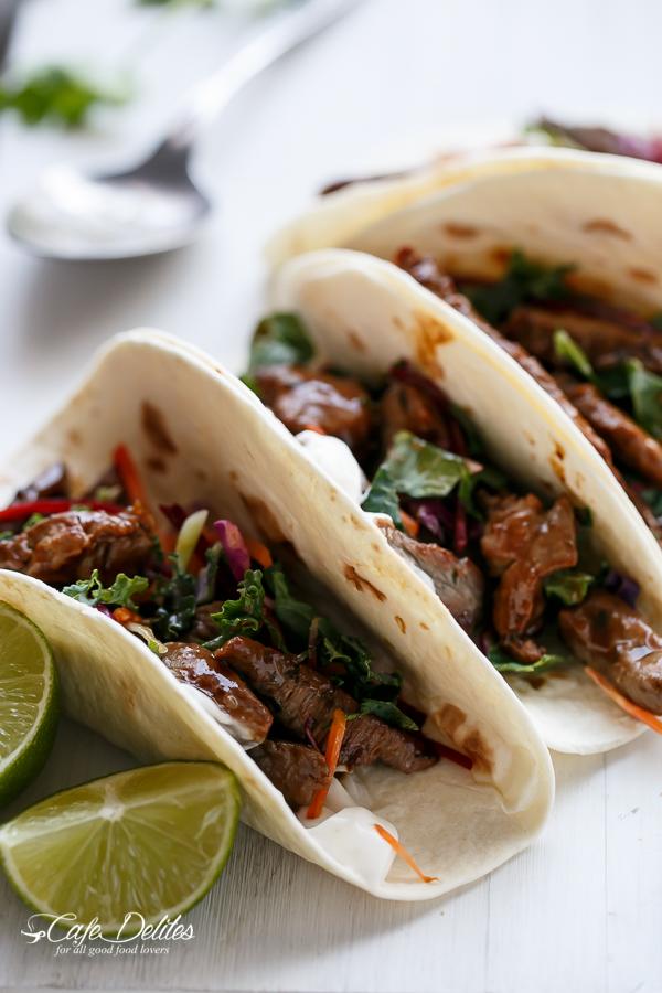 Korean Bulgogi Bbq Beef Tacos - BigOven 1187019