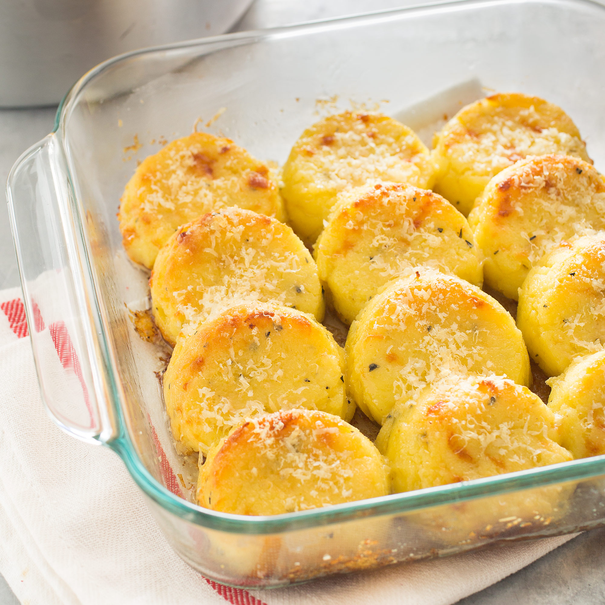 Recipes Course Side Dish Grains Semolina Gnocchi (Gnocchi alla Romana)